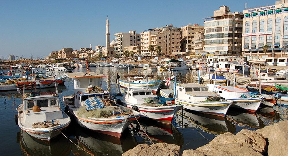 Porto di Tartus (foto d'archivio)