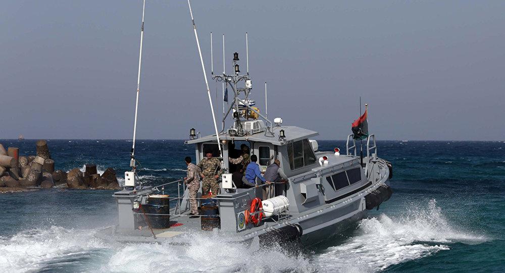 La guardia costiera della Libia