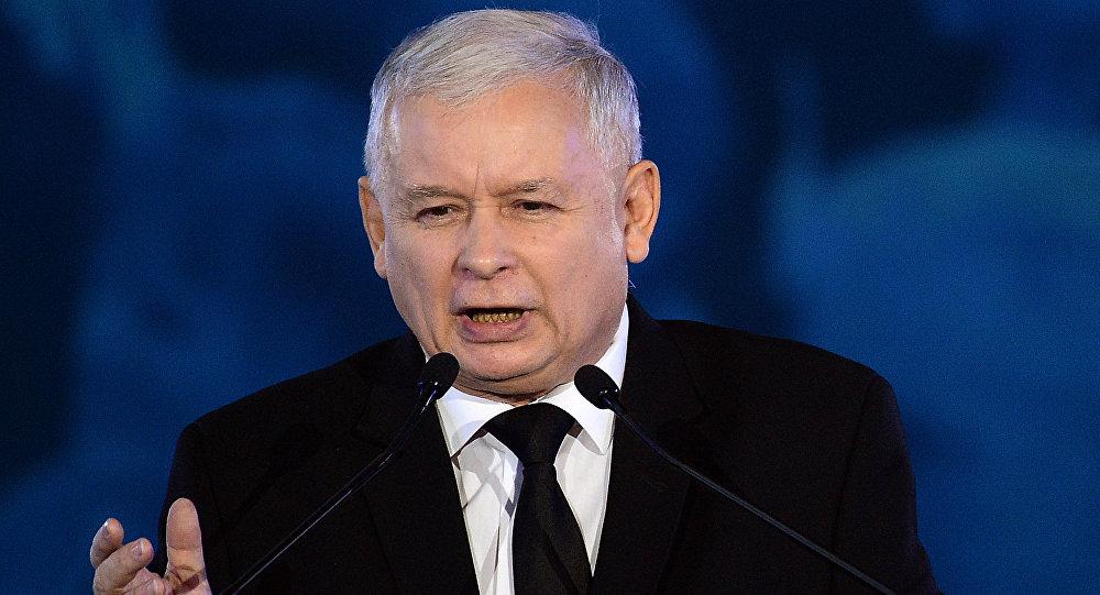 Jaroslaw Kaczynski, leader del partito polacco Diritto e Giustizia