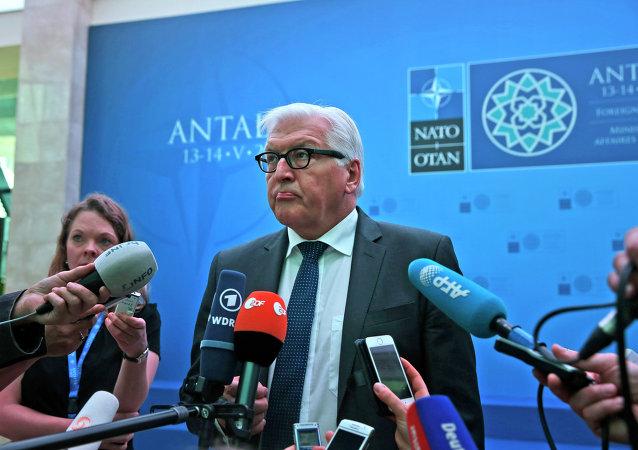 Il ministro degli esteri tedesco Steinmeier