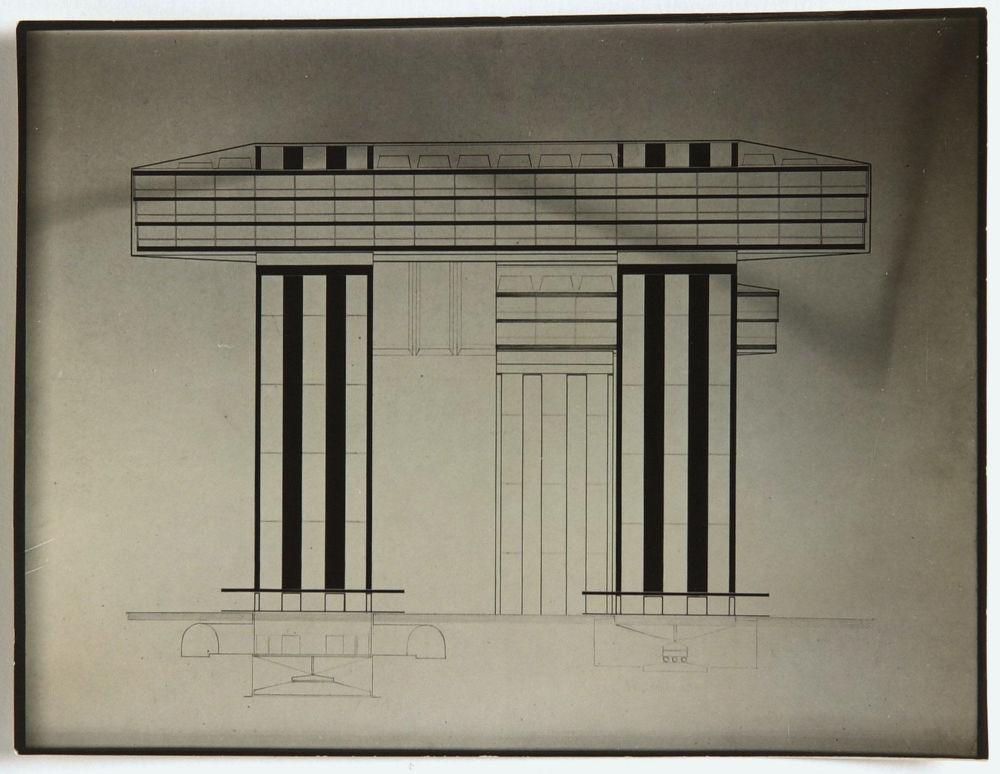 Il disegno di El Lissitzky.