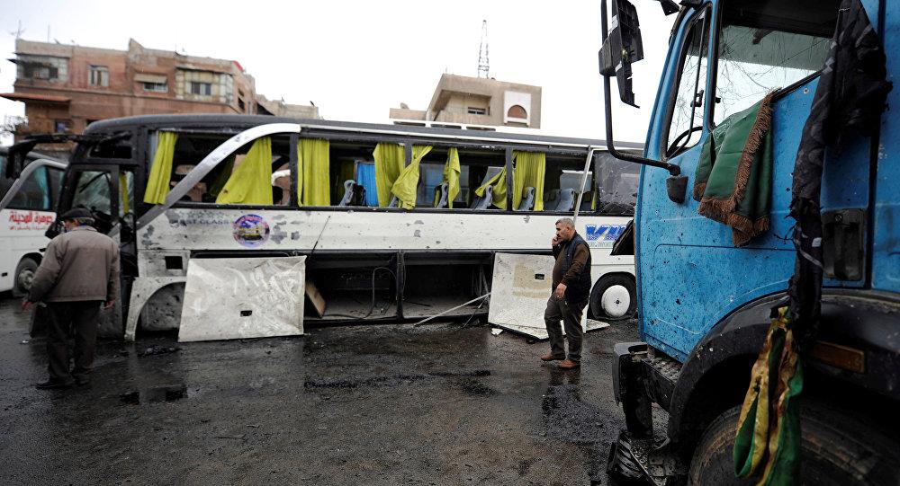 Esplosione a Damasco, Siria