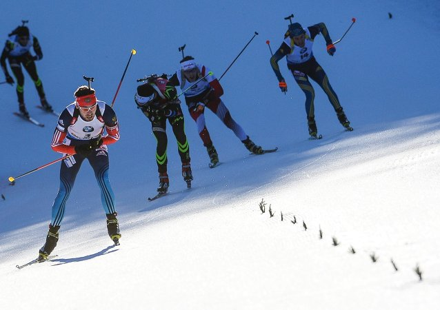 Gara di Biathlon