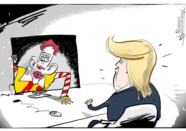 McDonald's contro Trump