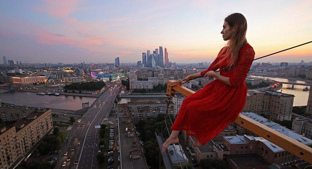 Una donna russa
