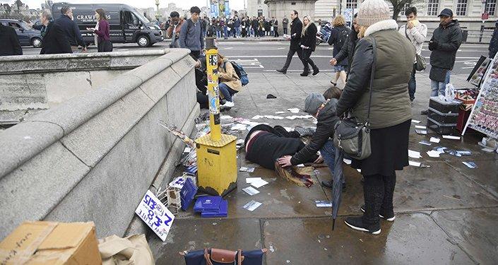 Feriti sul ponte di Westminster
