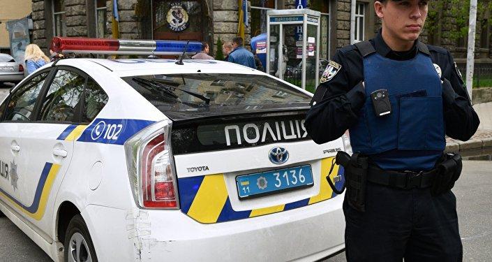 Poliziotto a Kiev
