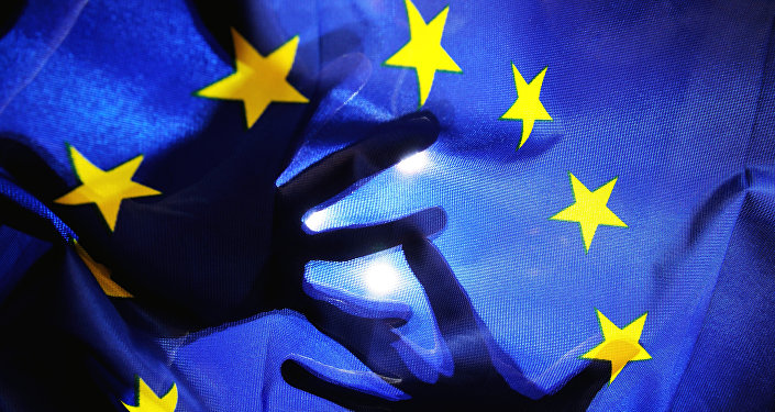 La bandiera dell'UE