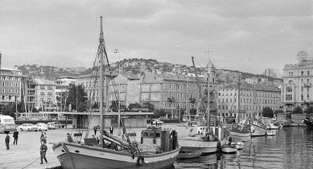 Il porto di Fiume
