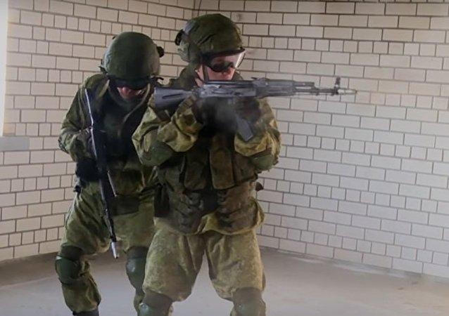 Ingegneri di assalto russi