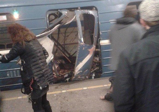 Esplosione nella metro di San Pietroburgo
