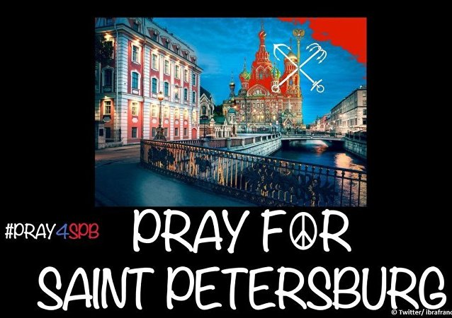 Pray for Saint Petersburg