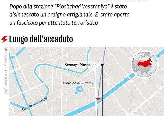 Attentato nella metro di San Pietroburgo