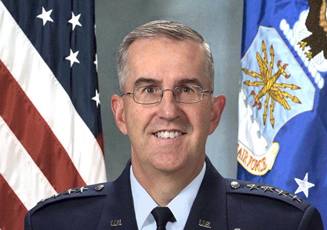 Generale John Hyten, comandante dello Stratcom