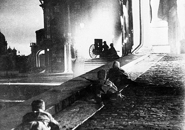 Lo scoppio della Rivoluzione Russa del 1917