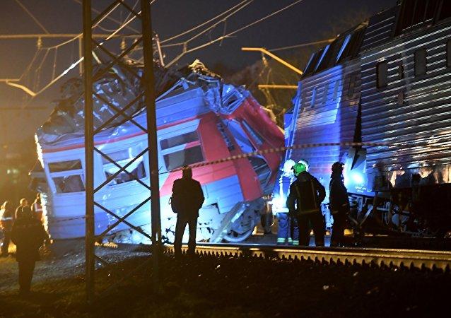 Incidente ferroviario ad ovest di Mosca