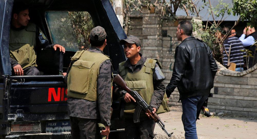 Polizia egiziana
