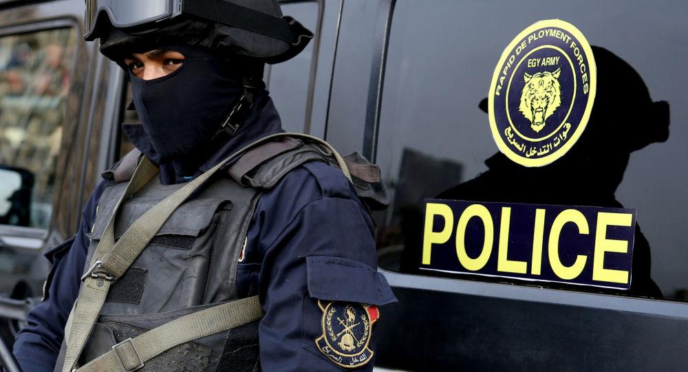 Forze speciali della polizia egiziana