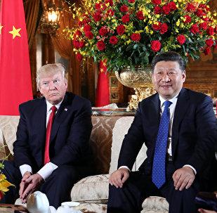 Donald Trump e Xi Jinping (foto d'archivio)
