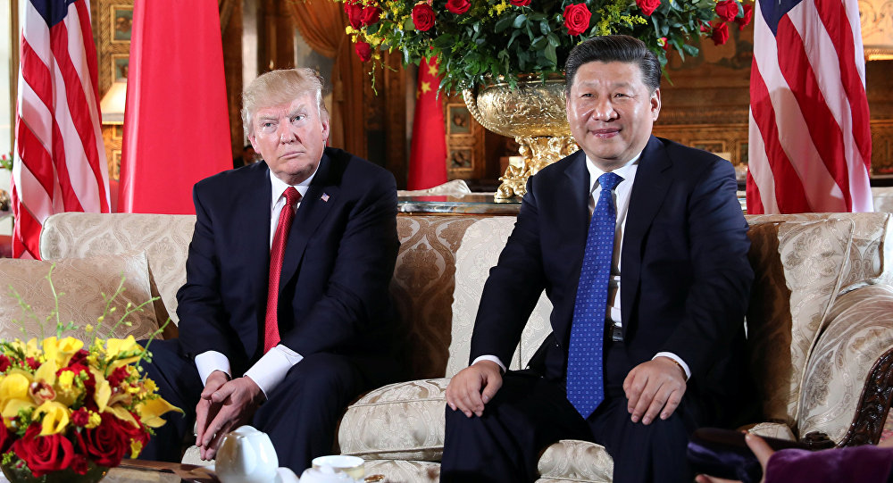 Donald Trump e Xi Jinping