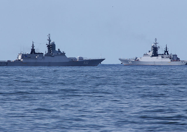 Boiky and Stoiky corvettes return to Baltiysk