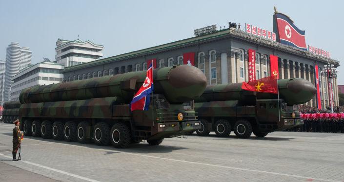 Parata militare a Pyongyang (foto d'archivio)