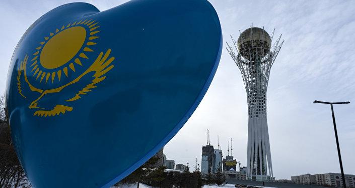 La torre Baiterek ad Astana