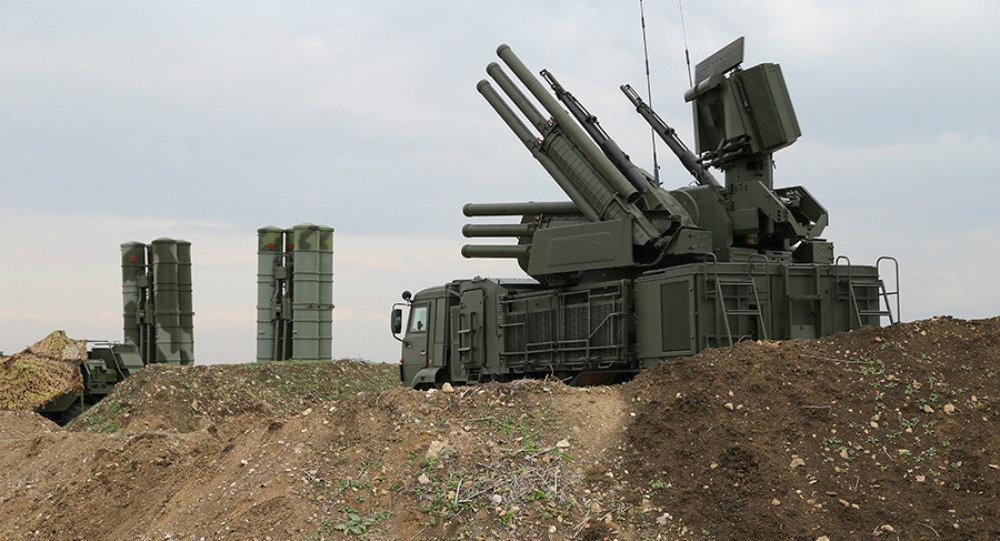 Contaerea russa Pantsir in Syria