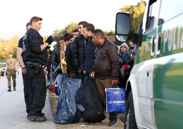 Profughi in Germania (foto d'archivio)