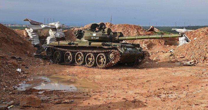Truppe siriane all'attacco nella provincia di Hama