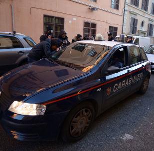 Autoblù di carabinieri