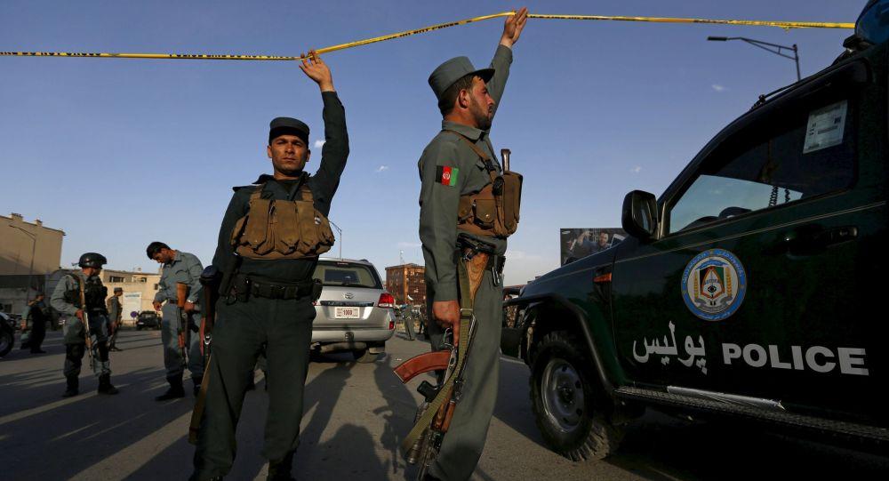 Polizia a Kabul