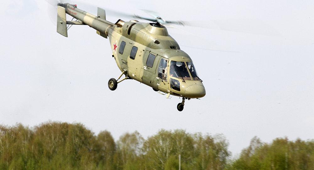 Elicottero Leggero : La russia presenta i suoi nuovi elicotteri militari a
