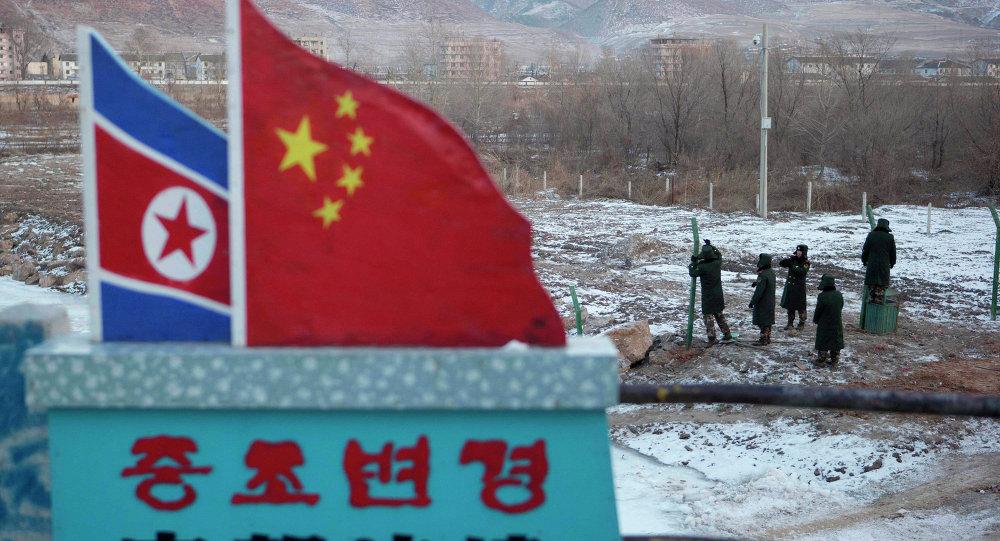 Confine tra Cina e Nord Corea