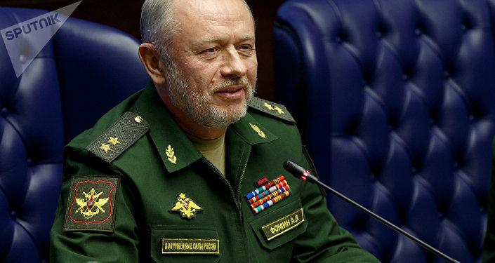 Il vice ministro della Difesa della Federazione, il generale Alexander Fomin.