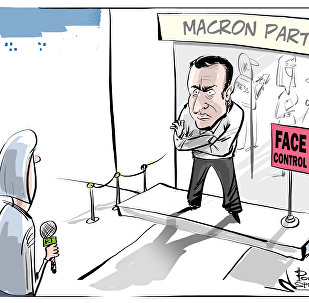 Il quartier generale del candidato alla presidenza della Francia Emmanuel Macron non ha concesso l'accredito a Sputnik e RT.