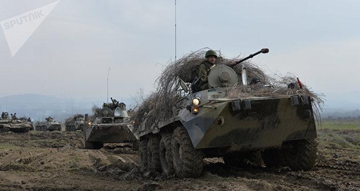 Il blindato BTR-82A