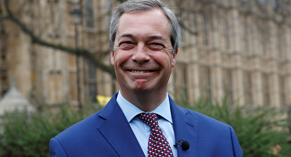 Nigel Farage, l'ideologo della Brexit (foto d'archivio)