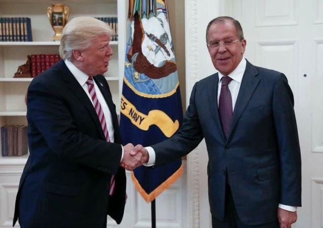 Incontro tra Sergei Lavrov e Donald Trump alla Casa Bianca, Washington