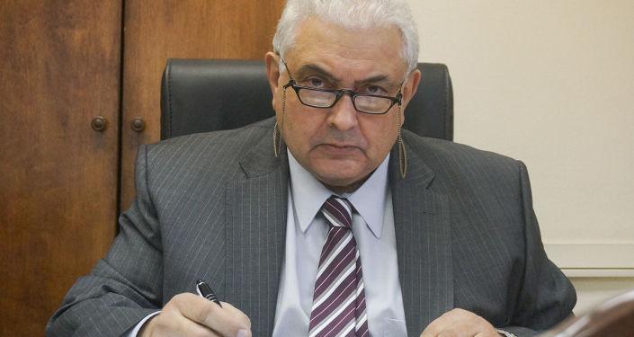 Sergey Nechayev, direttore del terzo dipartimento europeo del ministero degli Esteri russo