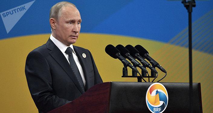 Vladimir Putin a Pechino