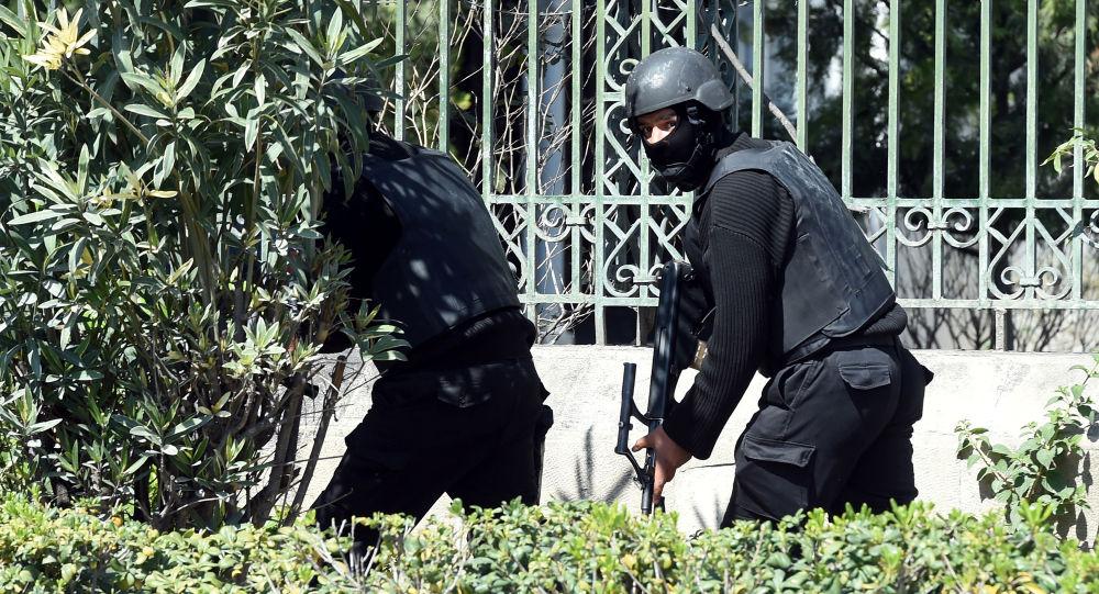 Le Forze di Sicurezza tunisine presso il Museo Bardo