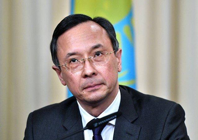 Foreign Minister of Kazakhstan Kairat Abdrakhmanov
