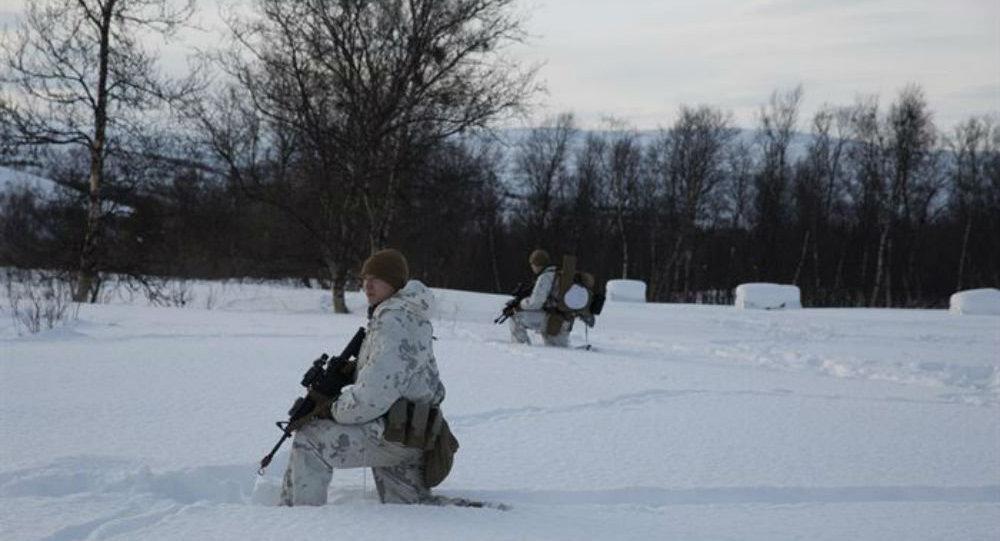 I soldati americani in Norvegia