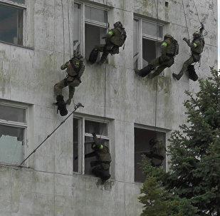 Le esercitazioni del FSB in Crimea