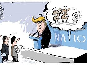 Trump al summit NATO