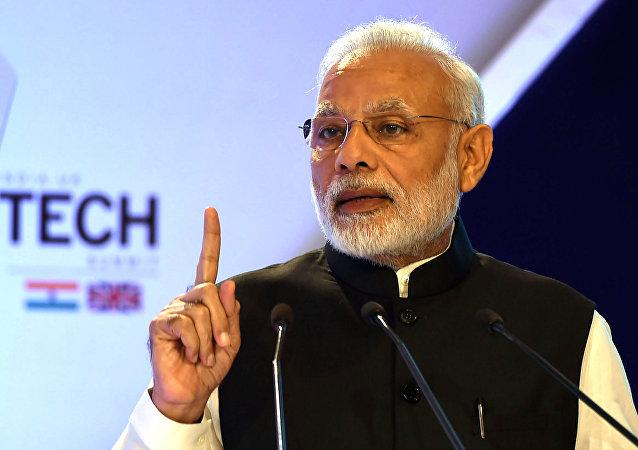 Il premier indiano Narendra Modi