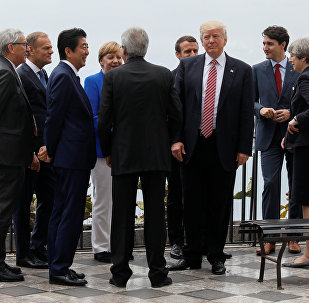 Vertice G7 a Taormina