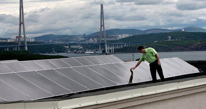Il campus dell'università FEFU è alimentato interamente con pannelli fotovoltaici