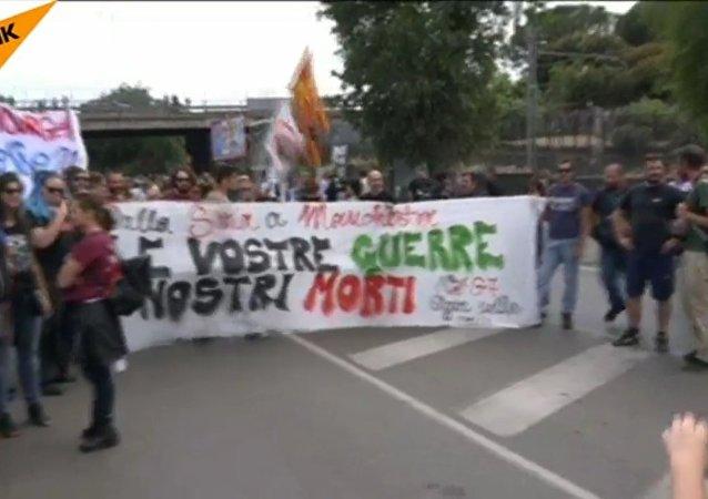 Italia, proteste contro il vertice G7